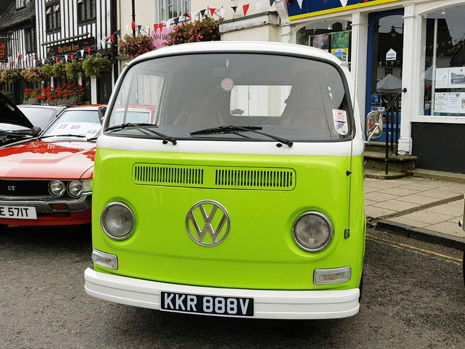 Lime Green VW Shortie Picture 3